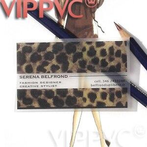 Quality transparent printing pvc card membership card greeting card i005 business card