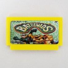 Battletoads 60 핀 게임 카드 8 비트 수호자 게임 플레이어