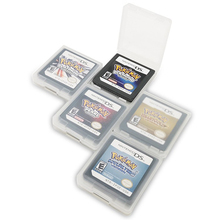 Game Cards For DS 3DS NDSi NDS Lite TAKARA TOMY POKEMON game cards pokemon figures game action figure stylus spring straps for nds ndsi nds lite 4 strap pack