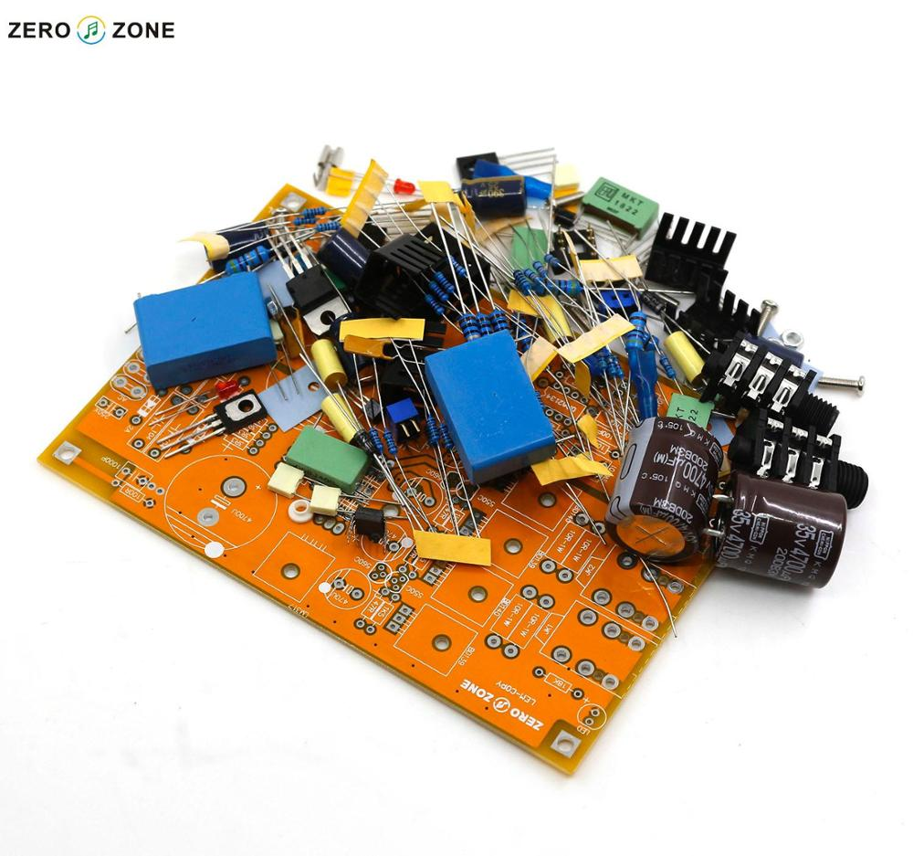 GZLOZONE Standard Version DIY Headphone Amplifier / Preamp Kit Base On Lehmann Linear Amp