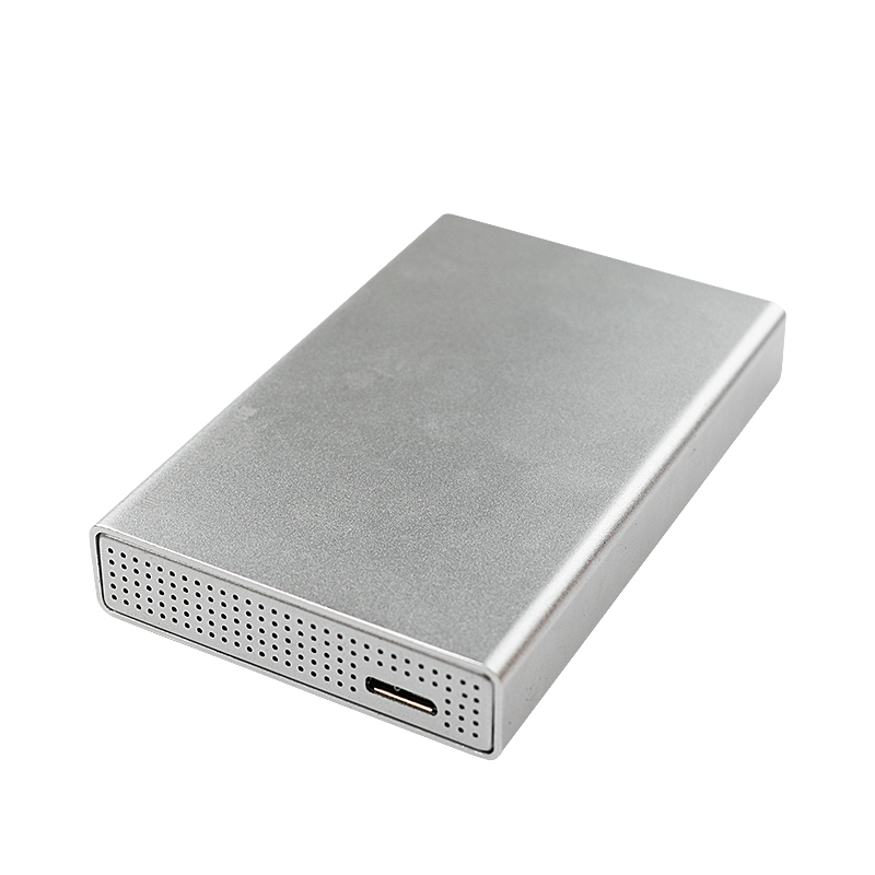 Todos los discos duros de metal de 2,5 ''Caddy para grosor de 15mm SSD HDD fundas externas USB 3,0 sata carcasa de disco duro Blueendless