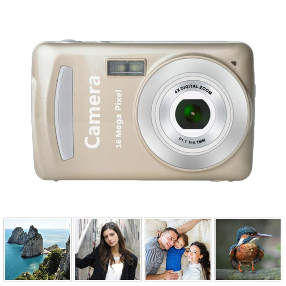 Portable Mini 2.4 Inch TFT LCD Screen Display High-definition Shooting Camera Pocket Camera Automatic Clear Shooting(China)