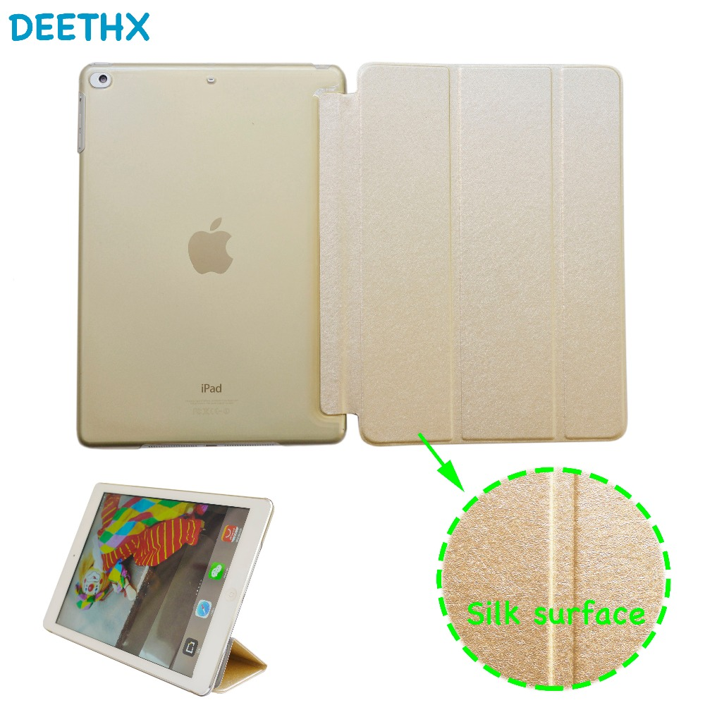 Luxury Silk Felt Leather Case for iPad Air A1474 A1475 A1476,For New ipad 9.7 inch A1822 A1823 A1893 A1954 Case Tablet new Cover