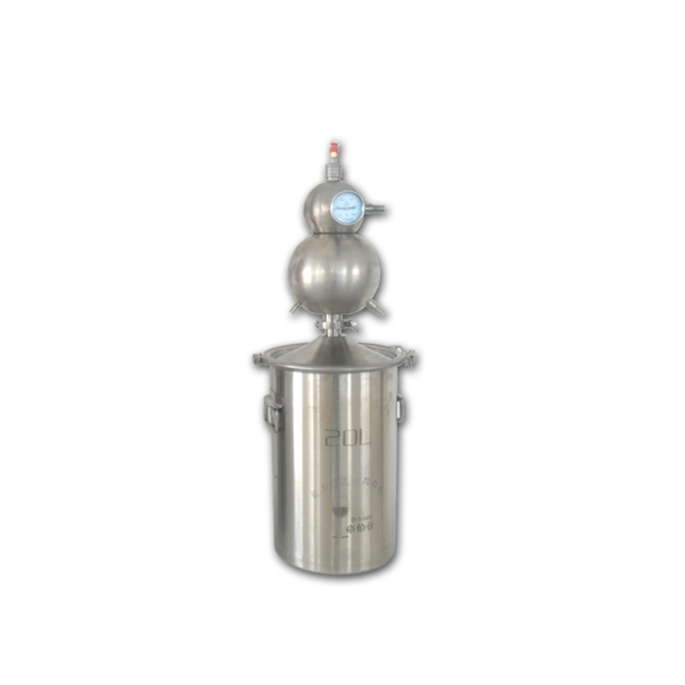 New Arrive Home Brew Reflux Alcohol Distiler For Brandy Vodka And Whisky Making Beer Distilling Wine Equipment