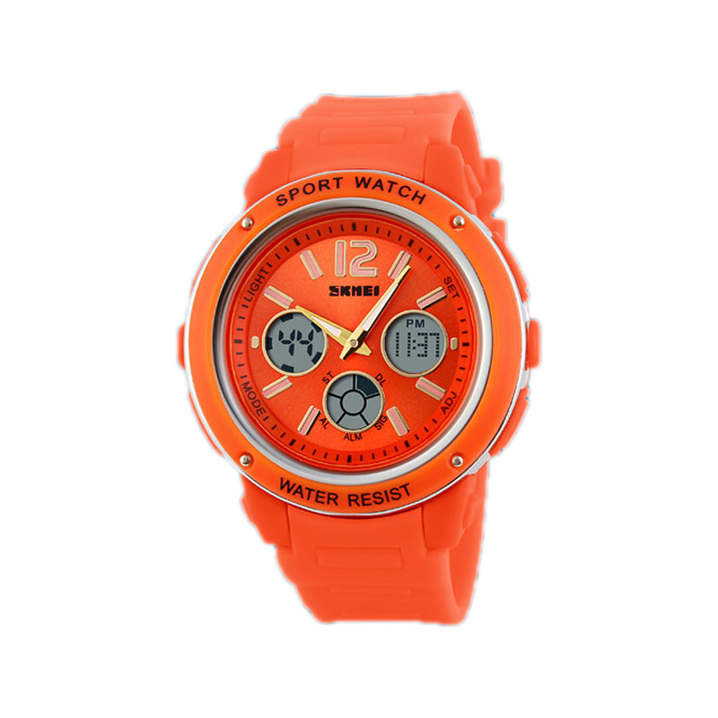 Men s Watches font b Luxury b font Brand Resin Quartz Clock Alarm Multifunction Digital LED