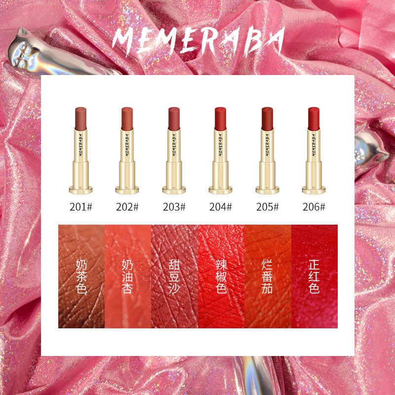 ลิปสติก Matte Long Lasting เกาหลี Nude ลิปสติกสีแดงลิปสติก Kyliejenner แต่งหน้า Lip Sticks สำหรับผู้หญิงกำมะหยี่ริมฝีปากแมว