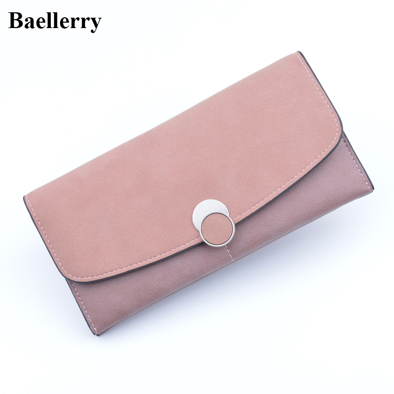 Brand Designer Leather Wallets Women Slim Wallet Hasp Long Coin Purses Credit Card Holders Clutch Phone Wallet Female Money Bags aelicy long clutch women wallet female simple retro owl printing womens wallets and purses luxury brand famous card holders