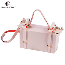 2019 New Hot PU Dress Solid Women Lady Shoulder Bags Cute Bow Hasp Five Colors Winter Style Satchels Crossbody