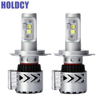 HoldCY H4 LED Car Headlight Bulb 72W 12000LM All In One Automobile LED HeadLamp DRL Fog