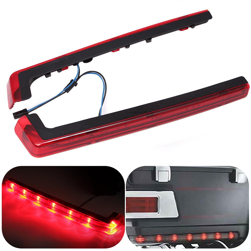 Tour Pak Pack Accent Side Marker Panel LED Light For Harley Touring  FLT FLHT FLHTCU 2006-2018 Red