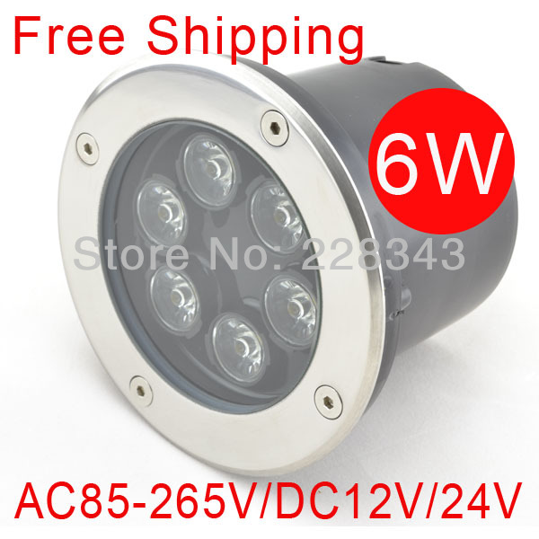 FREE SHIPPING 6w DC12V/24V IP68 LED underground lamp  Buried/Inground light 3years warranty outdoor/garden using|LED Underground Lamps|Lights & Lighting - title=