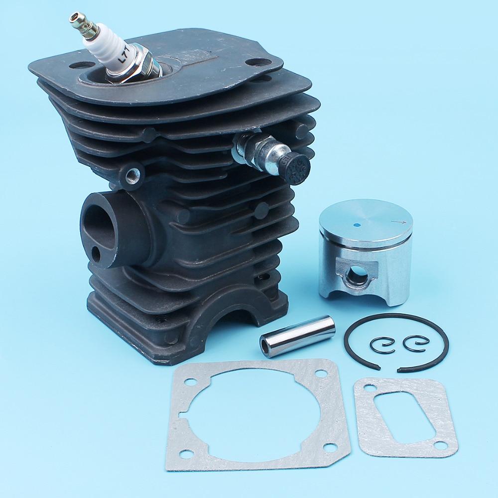 42mm Cylinder Piston Gasket Fuel Filter Kit For Jonsered CS 2141 2145 2150 EPA Husqvarna 340 345 Chainsaw 503870274503870276