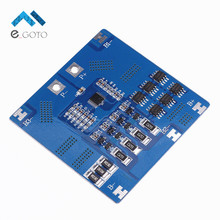 4S 12 8V 12A LiFePO4 Lithium Iron Phosphate Battery Balanced Protection Board Battery Protection Module