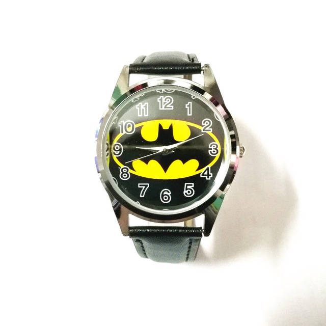 New Batman Quartz children's sports cartoon wrist watches men for boy students c