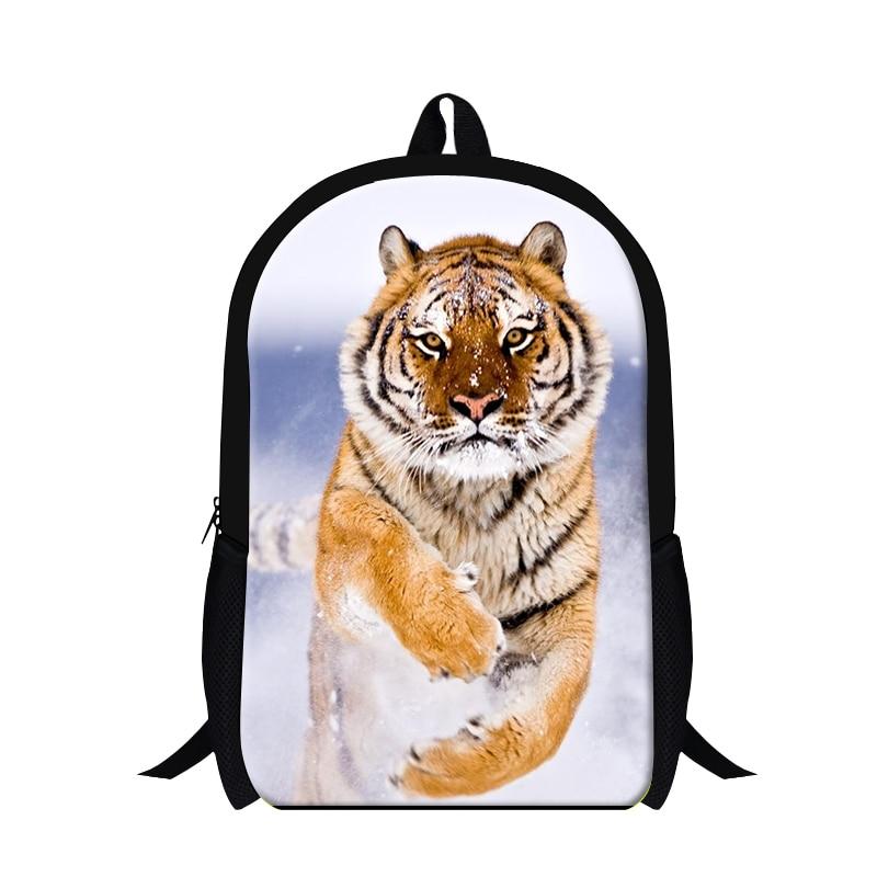 Chrismas gift Animal Print Backpack for teens,tiger leopard back pack magazine for children,cool bookbag,school bag for college
