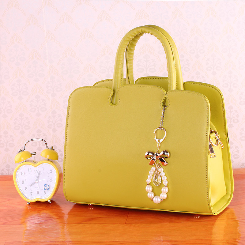 Fresh Style Ladylike PU Leather font b Handbag b font Women Fashion New Elegant Bag Fashion
