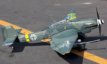 FMS Plane Stuka JU 87 EPO Airplane 1400mm ARF Without lipo battery rc airplane
