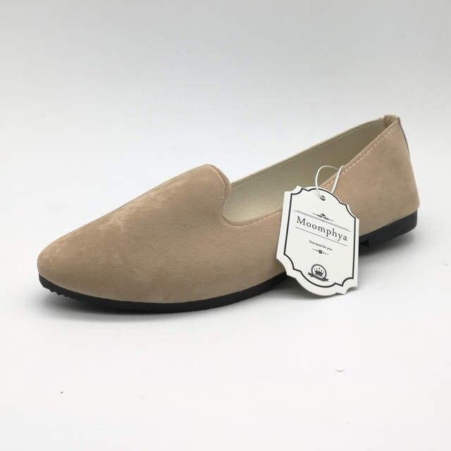 eabcb97c721 With Box Ladies Shoes Ballet Flats Women Flat Shoes Woman Black Large Size  41 Casual Shoe