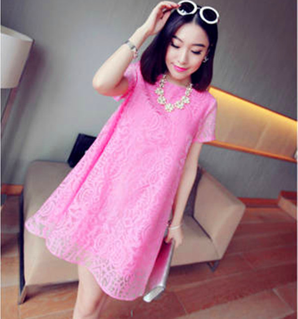 6e6262853ef9f maternity dresses Korean fashion maternity dress pregnant women dresses big  yards short sleeve organza dress pregnancy clothes-in Dresses from Mother  ...