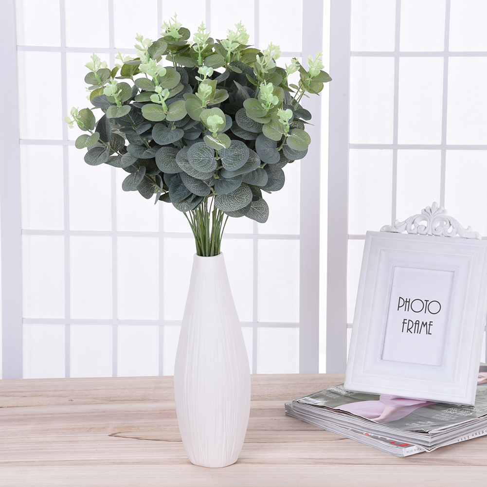 Online buy wholesale artificial money plant from china for Plante verte decorative
