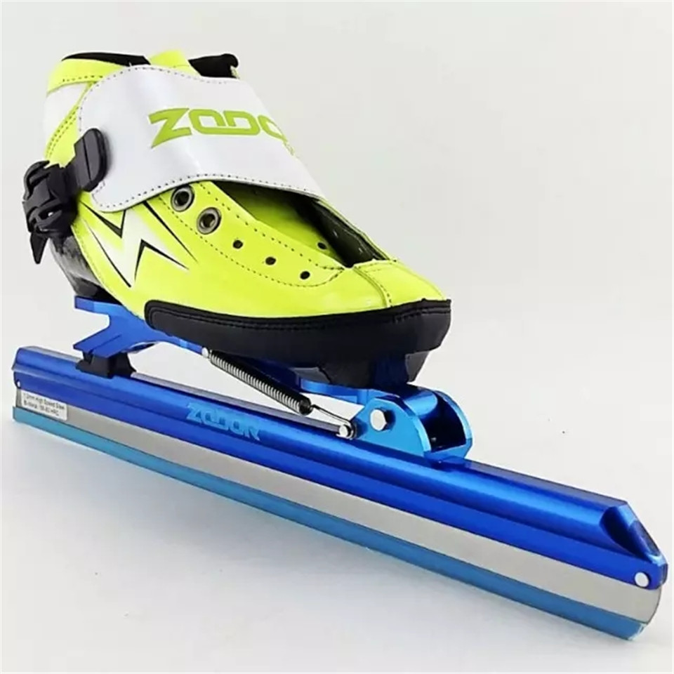Japy 6 Layers Carbon Fiber Speed Ice Blade Skating Shoes Metal Fix Location Knife Racing Skate Comfortable Patines Sneakers I008