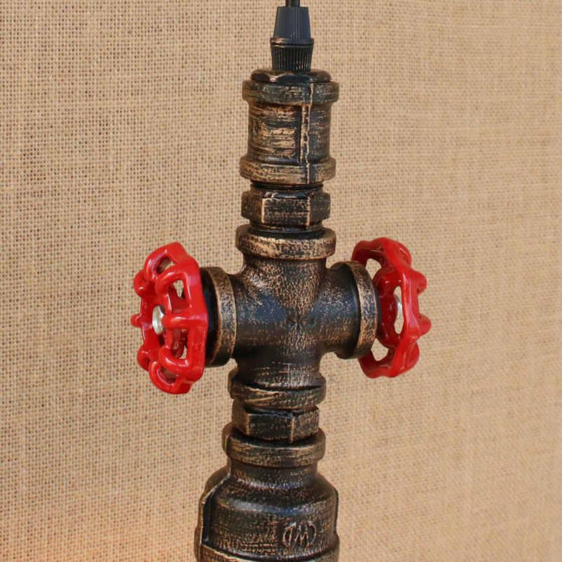 Loft vintage retro lampen wasser rohr lichter trichter eisen bar restaurant industrie wind cafe gang treppen wohnzimmer anhänger lampe