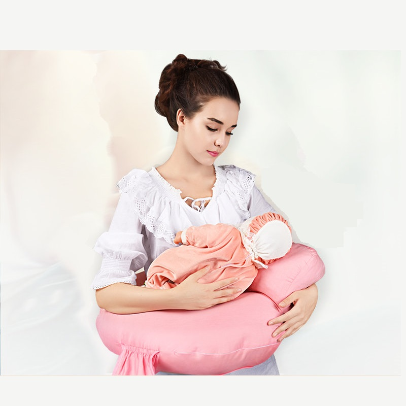 Contemplative 6 Colors Cotton Newborn Baby Nursing Pillow Print Breastfeeding Piilow Maternity Waist Support Cushion Baby Care Cushion Pillow
