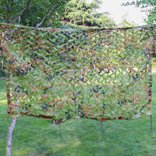 2X2 Meter Jungle Camouflage Net Army Military Hunting Net Camping Camo Netting Sun Shelter Car Cover Shooting Shade Blinds 3d oxford jungle camouflage net 1 5x3m camo netting for camping and hunting hidden or sun shelter or car covers free shipping