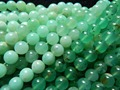 Free Shipping (48 beads/set/37g) natural Chrysoprase 8.5mm smooth round loose beads stone for jewelry design making