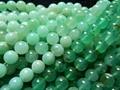 Frete Grátis (48 contas/set/37g) natural Chrysoprase 8.5mm liso rodada solta pérolas pedra para o design de jóias fazer