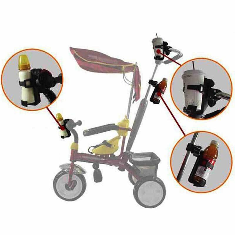 Dla niemowląt dla niemowląt wózek pić mleko butelka uchwyt na kubek stojak stojak obrotowy regulowany wózek koszyk akcesoria dla dzieci