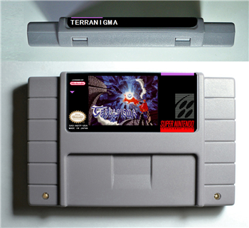 TERRANIGMA - RPG Game Battery Save US Version цена