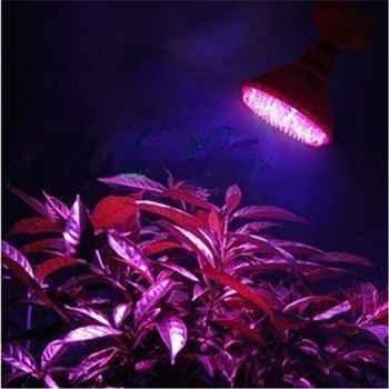 New E27 (38-138)LED 2/5/7W Plant Grow Light Bulb Garden Hydroponic Lamp