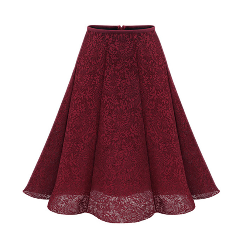 Красная юбка бренды