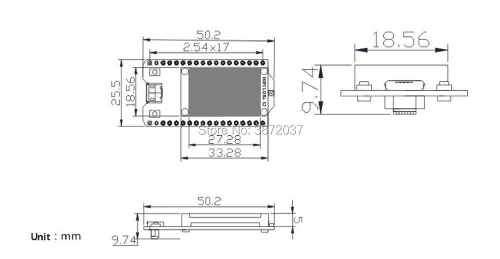 FZ2886-6-esp32 0.96 oled lora