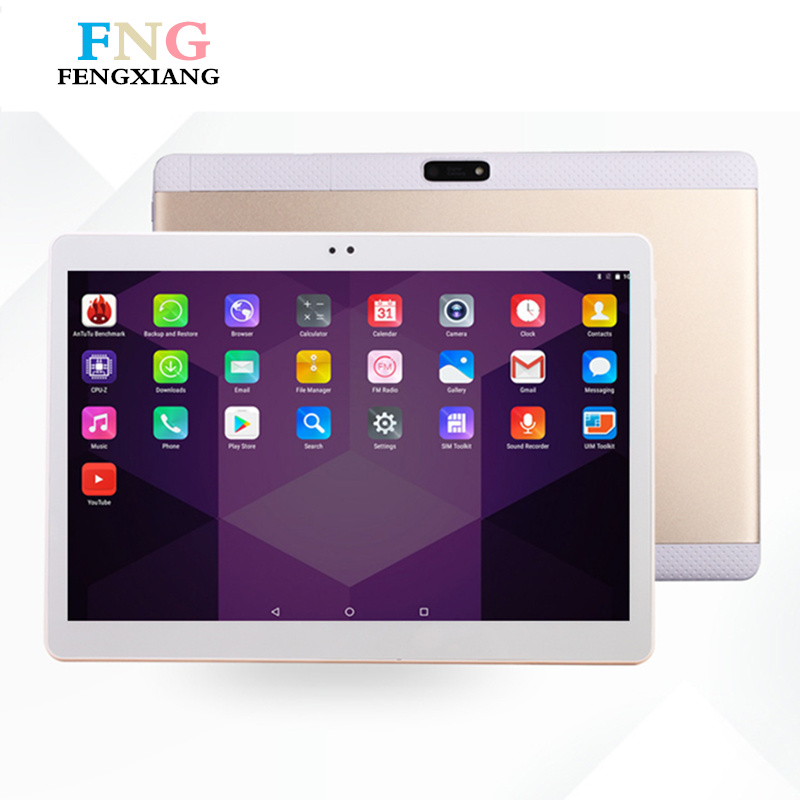2018 Newest 10.2 inch Tablet PC Android 7.0 2GB RAM 32GB ROM Quad Core Dual Cameras 8.0MP 1920*1200 IPS Phone Tablets+Gifts 8 0 inch chuwi hi8 air tablet pc intel x5 quad core android 5 1 windows 10 dual os 2gb ram 32gb rom 1920x1200 ips hdmi tablets