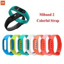 Xiaomi mi band 2 Wrist Strap Belt Silicone Colorful Wristband for Mi Band 2 Smart Bracelet for Xiaomi Band 2  все цены