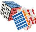 Envío gratis nuevo ShengShou negro 5 x 5 cubo de la velocidad Twisty mágico rompecabezas 5 x 5 x 5 juguete educativo