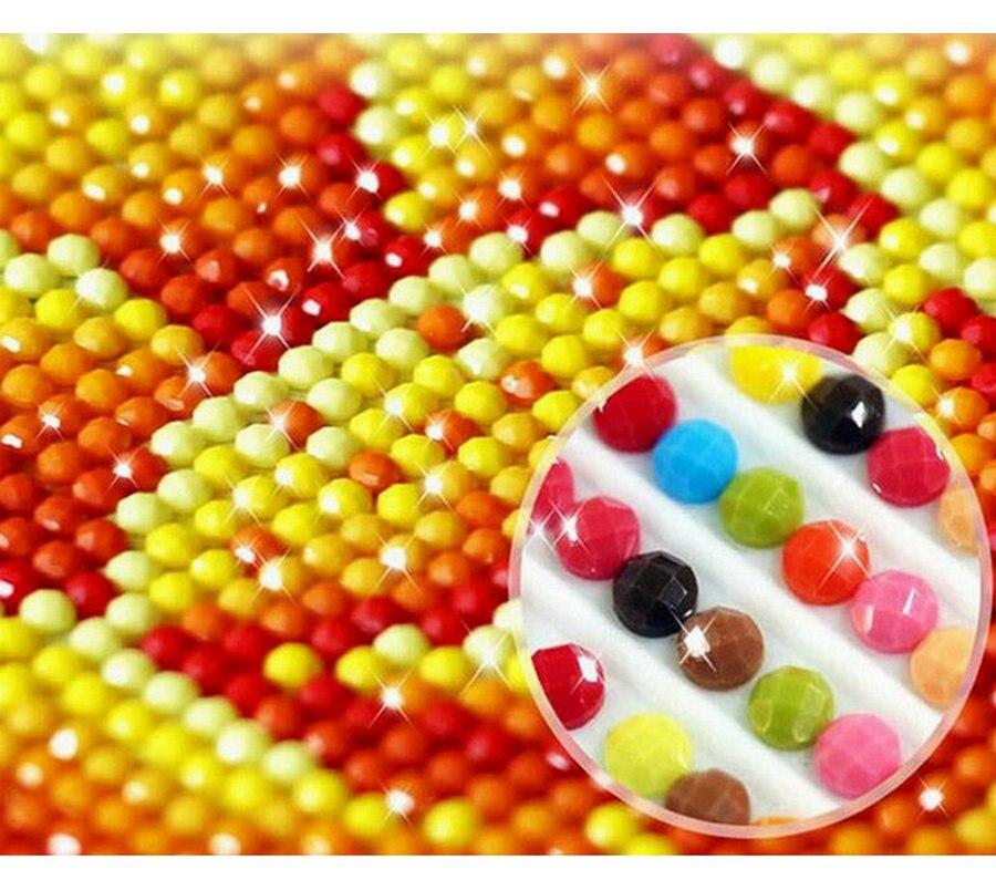 Поделки алмазов картина живописные горячий воздух воздушный шар рукоделие Полный Круглый бриллиант вышивка украшение дома мозаика живопи...