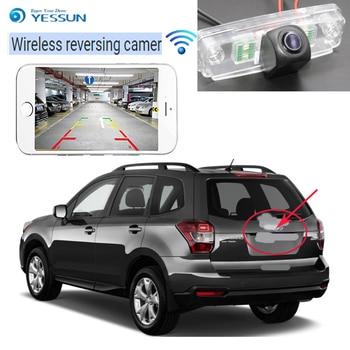 Subaru Accessories Forester | YESSUN New Car Wireless Rear View Camera For Subaru Impreza WRX Sedan Forester Outback 2008-2014 Waterproof CCD HD