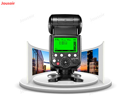 X800 PRO Top Hot Shoe Flash built-in 2.4g receiver King High speed synchronous TTL Professional Photographic Flash CD50 T11