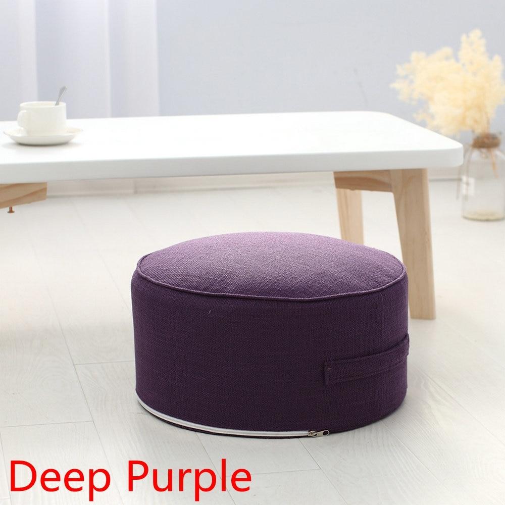 HTB1mJR7UNnaK1RjSZFBq6AW7VXaN New Design Round High Strength Sponge Seat Cushion Tatami Cushion Meditation Yoga Round Mat Chair Cushions Hap-deer