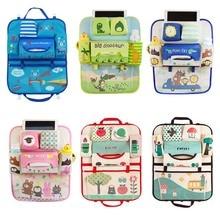 Милая сумка для хранения на заднем сиденье автомобиля, органайзер, аксессуары для детской коляски Varia, аксессуары для салона автомобиля