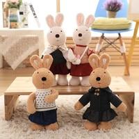 Sugar Rabbit Toys Peter Rabbit Music Lovely Cartoon Stuffed Kids Birthday Gift Cute Electric Music Bunny Plush Toy 40cm