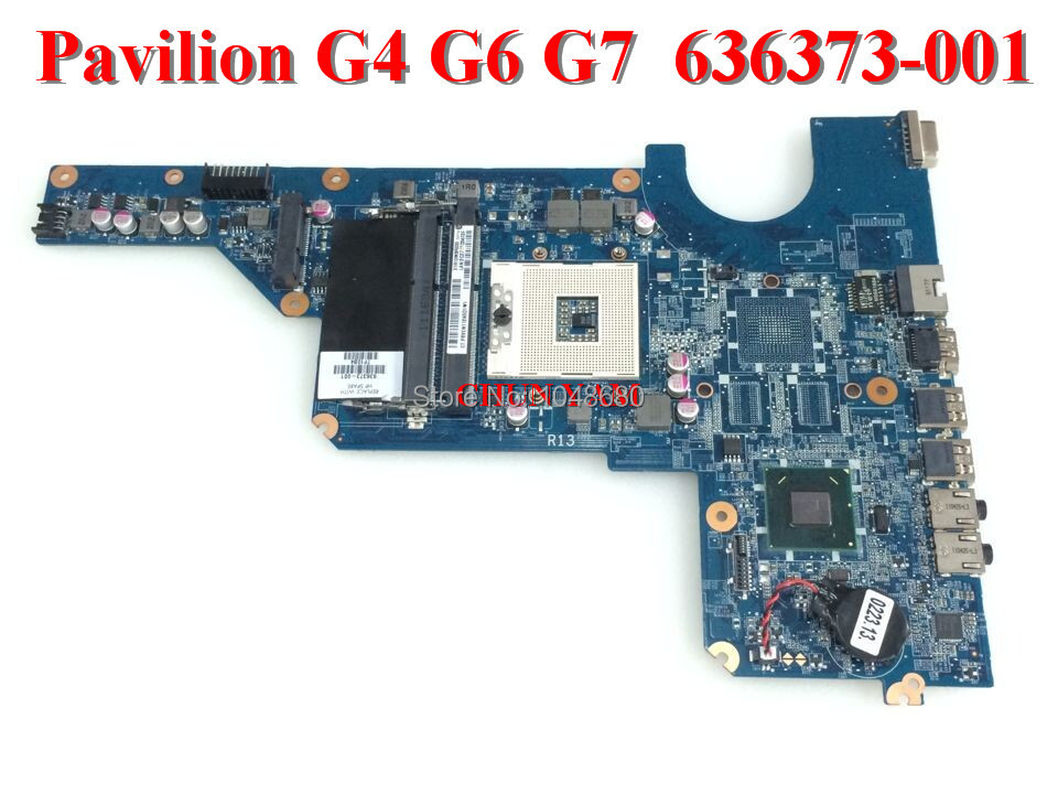 ФОТО DA0R13MB6E0 REV : E for HP Pavilion G4 G6 G7 G6-1000 series laptop motherboard 636373-001 mainboard 100% Tested 90 Days Warranty