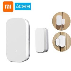 Xiaomi AQara inteligentne okna czujnik drzwi ZigBee bezprzewodowego połączenia wielofunkcyjny pracy z Xiaomi inteligentnego domu Mijia/Homekit