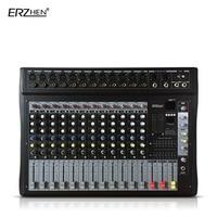 Аудио микшер консоли w9000t12 профессиональный микшер аудио Усилители домашние звуковой процессор 12 каналов