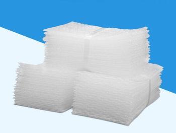 Sacs à bulles en plastique blanc 100 pièces, nouvelles enveloppes, pochettes à bulles en LDPE, sacs à bulles, prix de gros