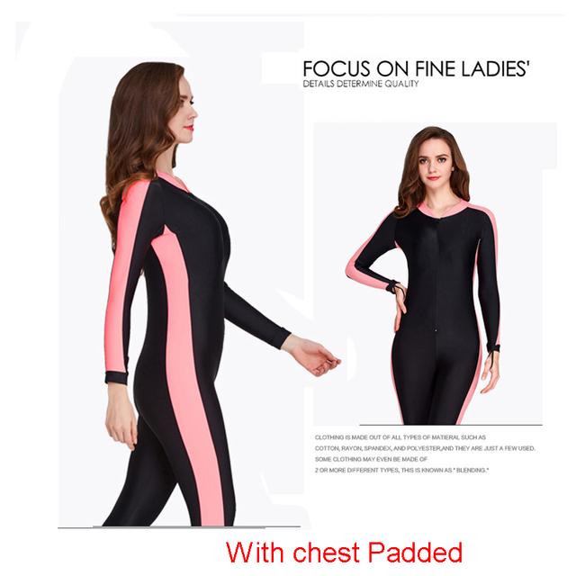 SBART UPF 50+ Lycra Diving Wetsuit anti UV one piece rash guard long sleeve swimwear surf Suit Men Women Sun Protect