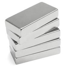 1Pc Block Cuboid Magnet 50x25x10mm Super For Generators Strong Rare Earth Neodymium N52 Multipurpose Rectangle